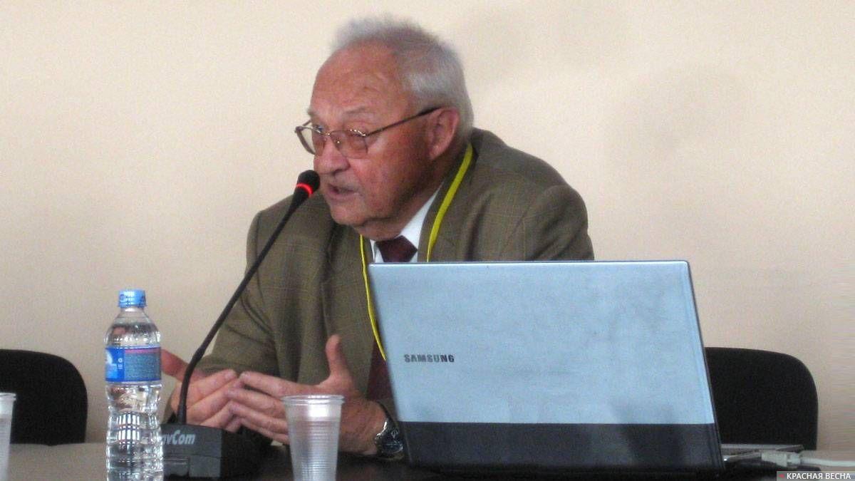 Мансуров Валерий Андреевич, президент Российского общества социологов.