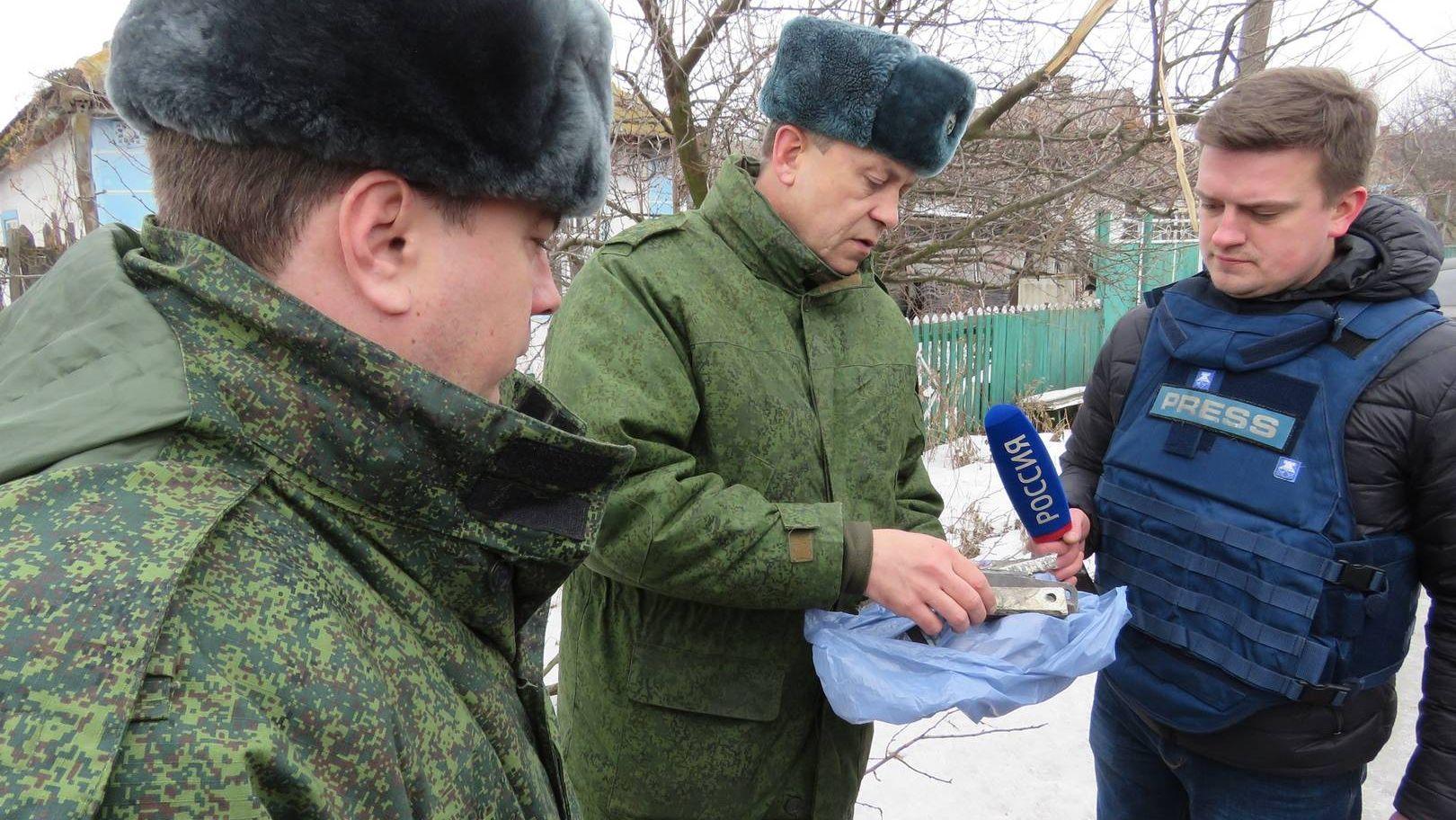 Басурин. Осколки. Еленовка. ДНР. 2017.