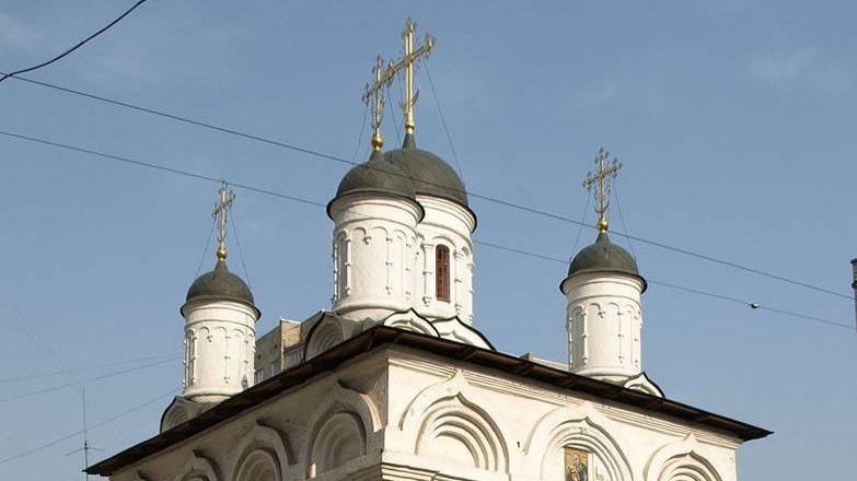 Храм во имя Апостола Иоанна Богослова в Бронной слободе
