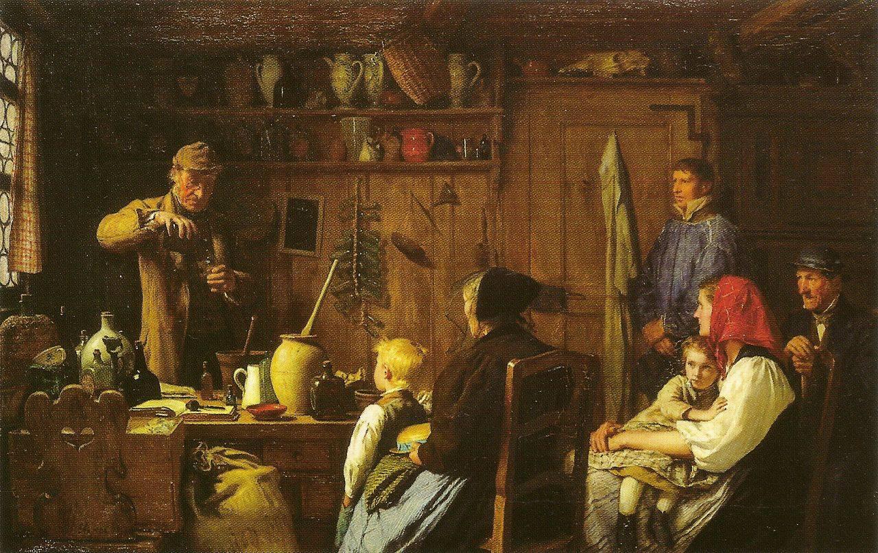 Альберт Анкер. Шарлатан. 1879