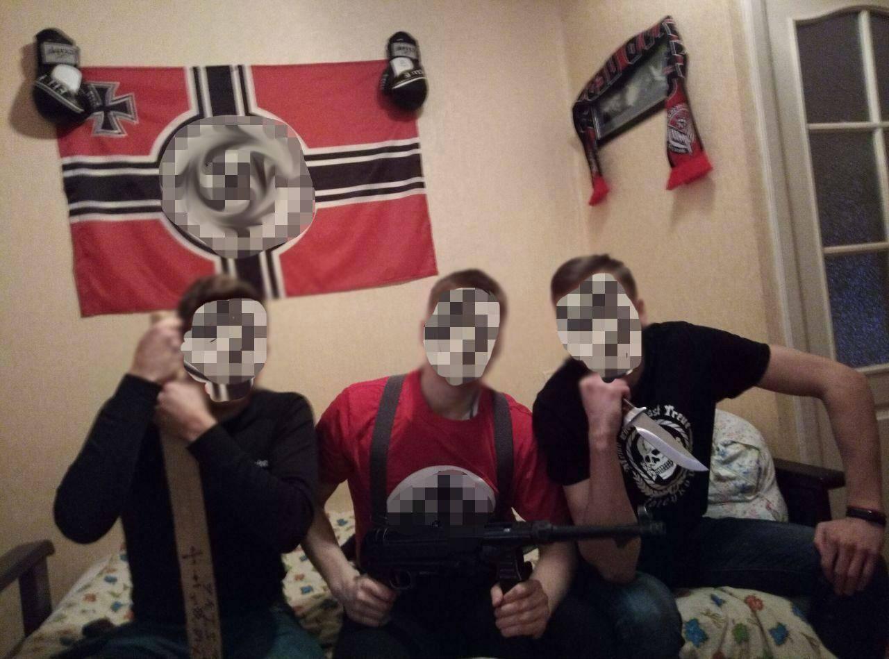 Задержанные пермские неонацисты