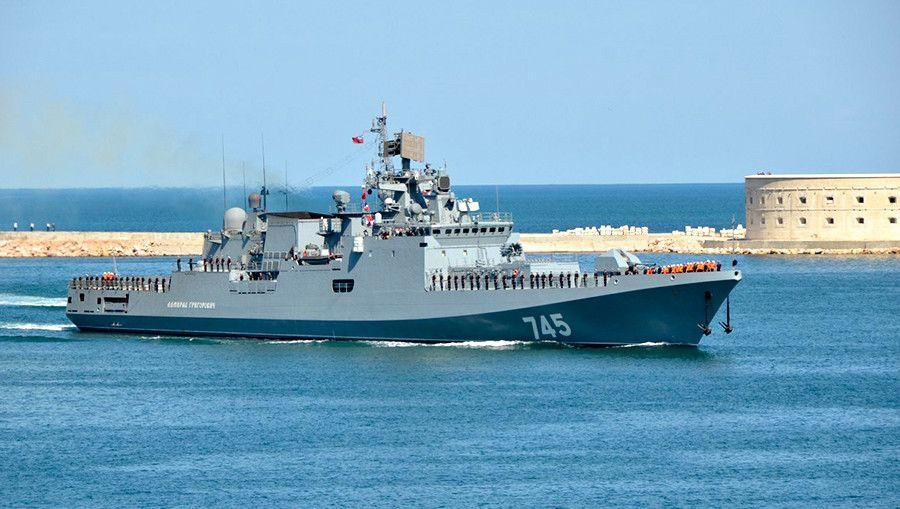 Фрегат «Адмирал Григорович»