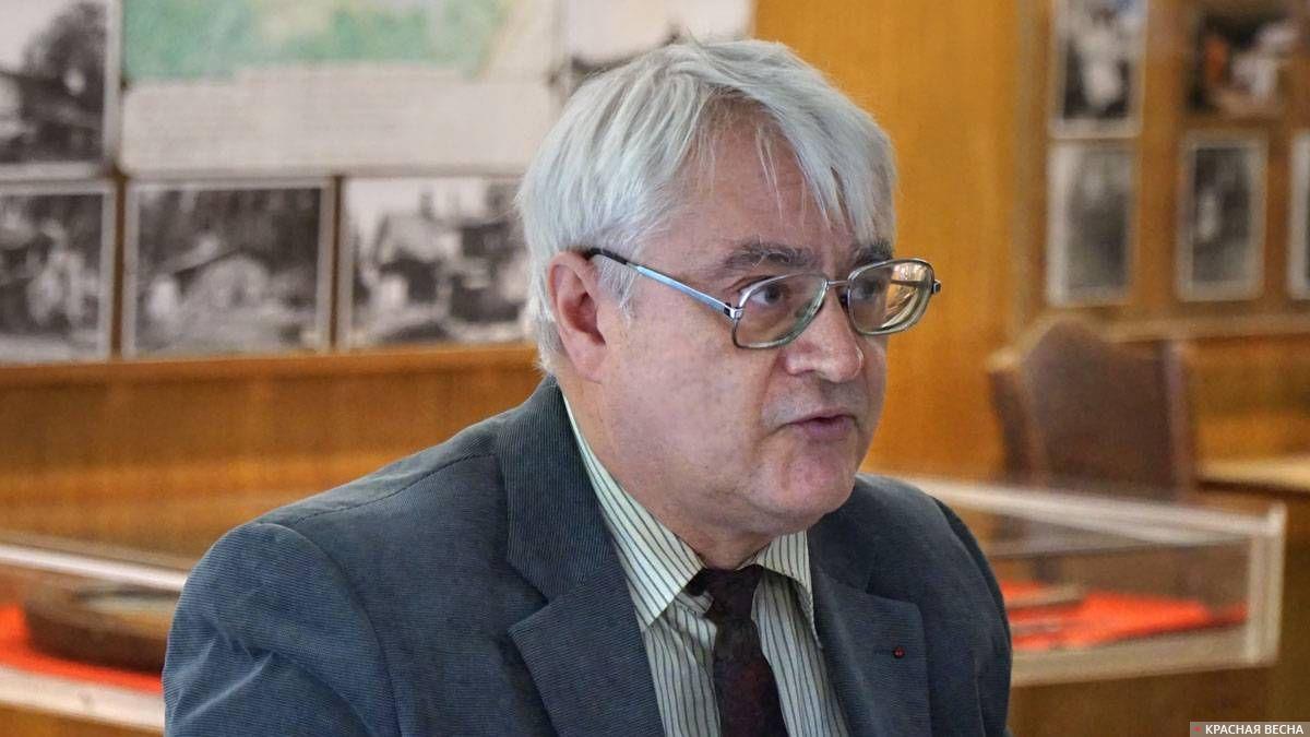 Барышников Владимир Николаевич, д.и.н., профессор СПбГУ. 28.09.2019