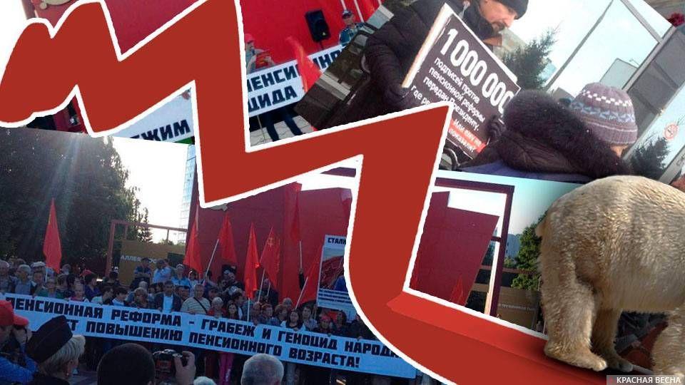 Пенсионная реформа Единой России