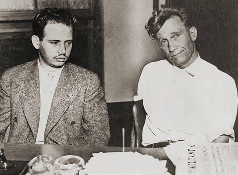 Макс Шахтман (слева) и Джеймс Кэннон (справа), 1930-е