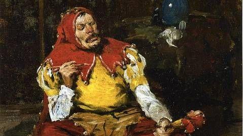 Уильям Чейз. Королевский шут.(фрагмент) 1875