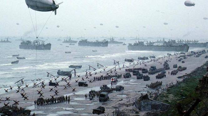 Высадка американских войск в Нормандии