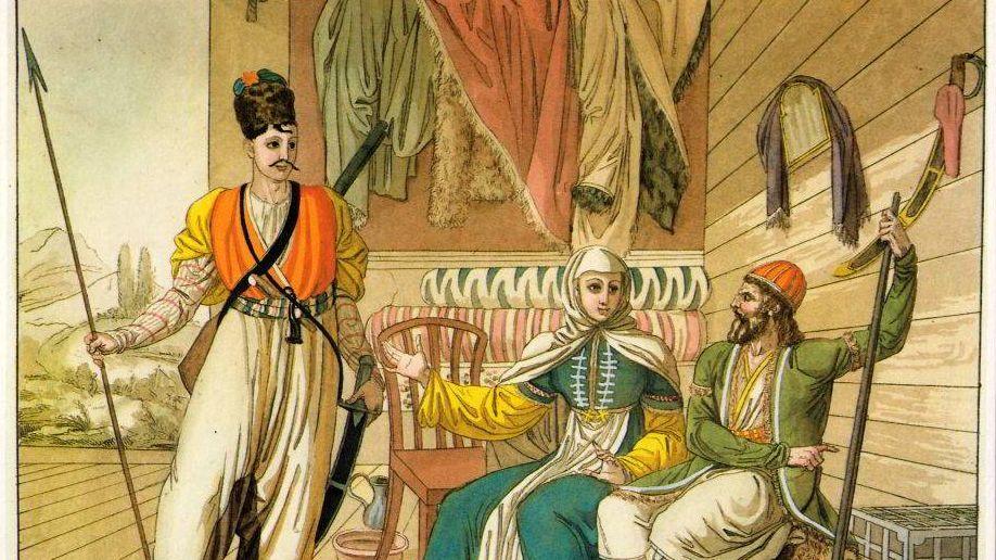 А.-Т. Биазиоли. Русские казаки. 1812-1830