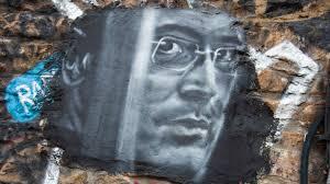 Портрет Ходорковского, граффити
