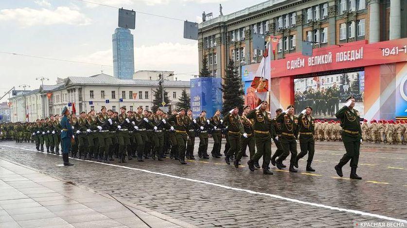Парад Победы. Екатеринбург, 9 мая 2019