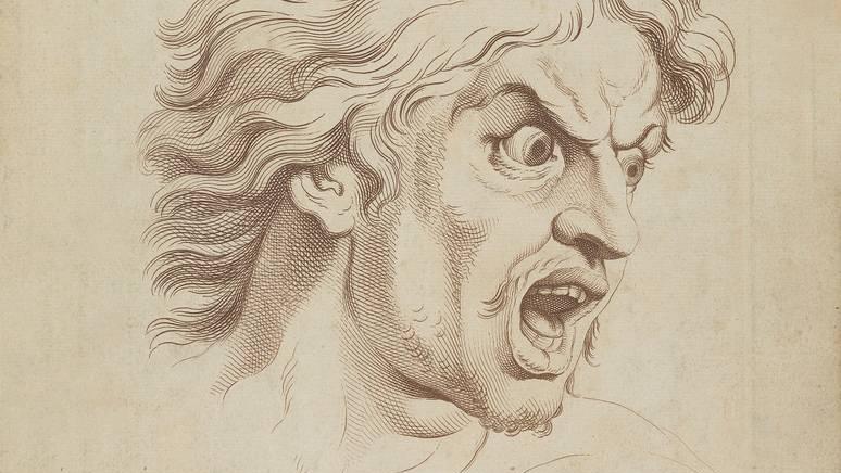После Шарля Лебрена. Ужас или Страх. 1765