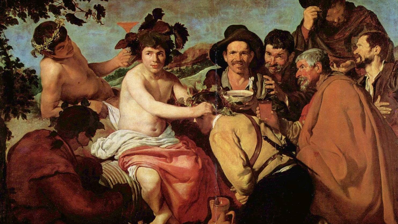 Триумф Вакха. Веласкес. Фрагмент. 1628—1629