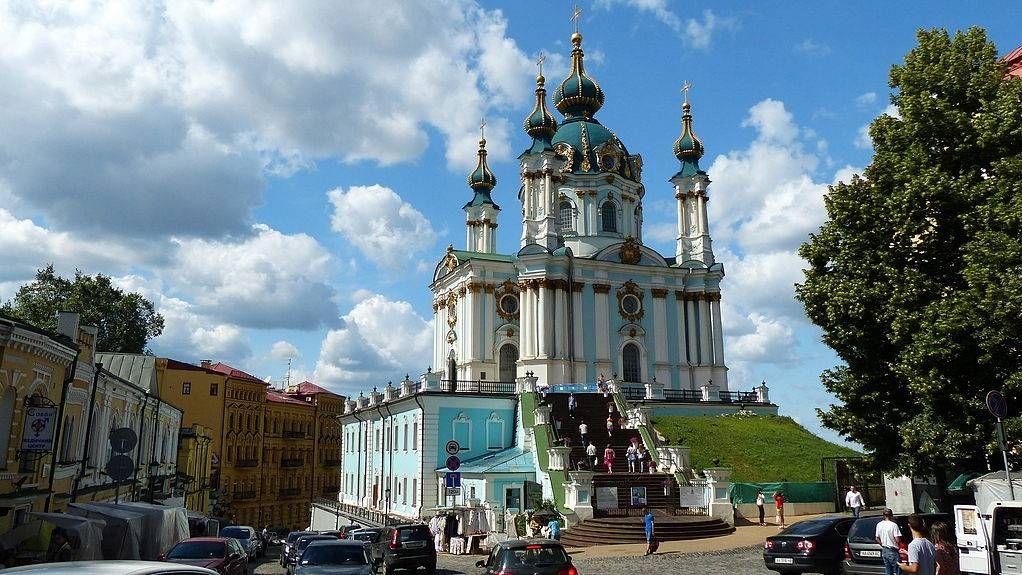 Андреевская церковь в Киеве — бывший кафедральный храм УАПЦ