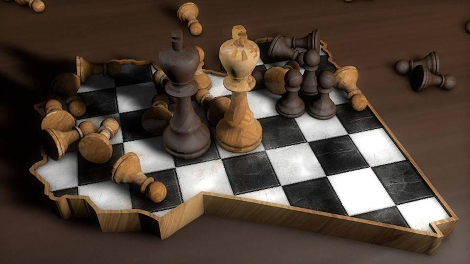 ливия, шахматы, cinema 4d