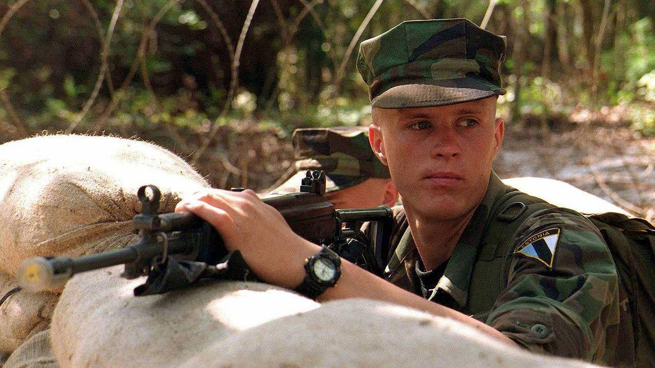 Солдат эстонской армии