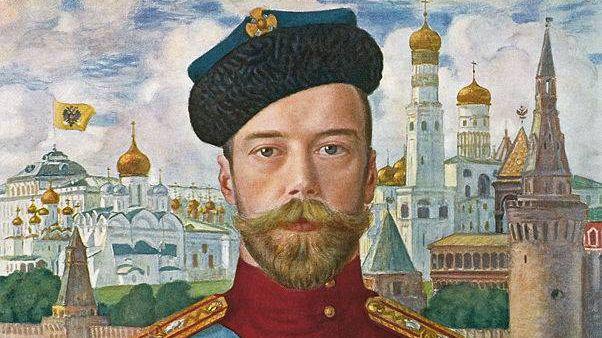 Борис Михайлович Кустодиев. Царь Николай II. 1915