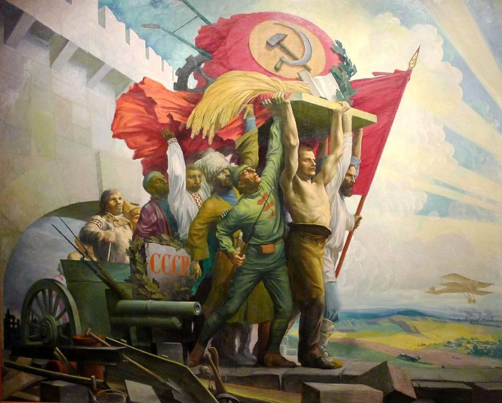 Карпов Степан. Дружба народов. 1924-1925