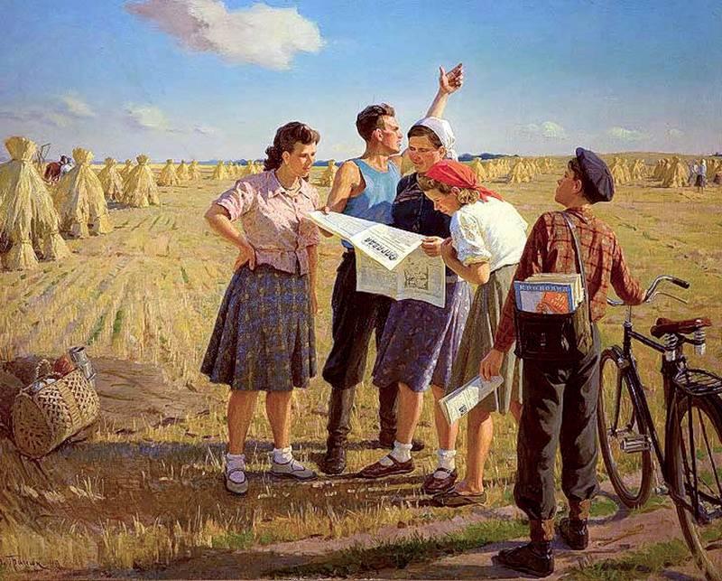 Соцреализм в картинах художников