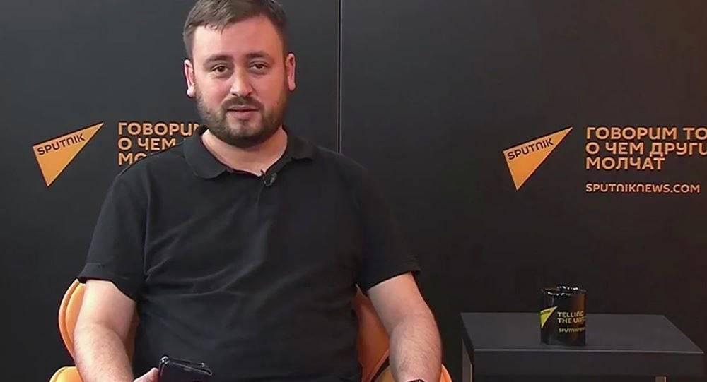 Главный редактор новостного агентства @Sputnik_lietuva М.Касем