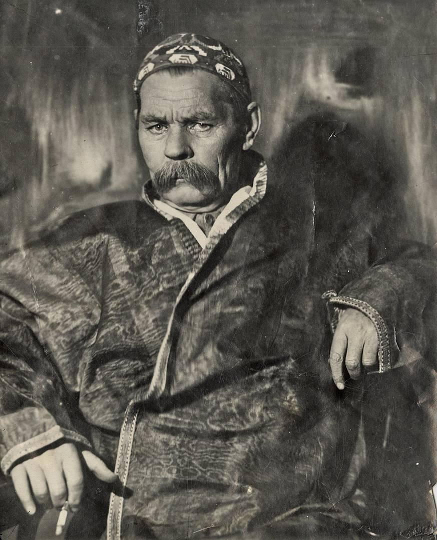 Максим Горький. 1928 (Фото — М. С. Наппельбаум)