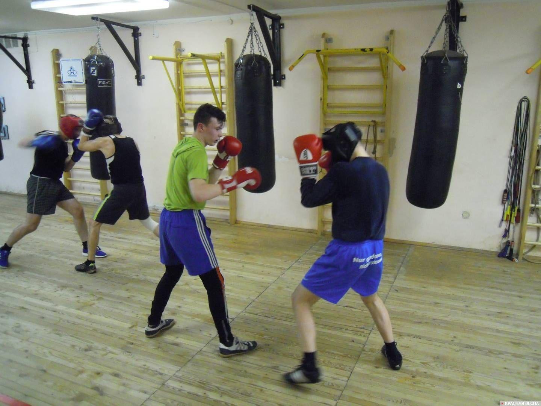 Ижевск. Тренировка в клубе бокса