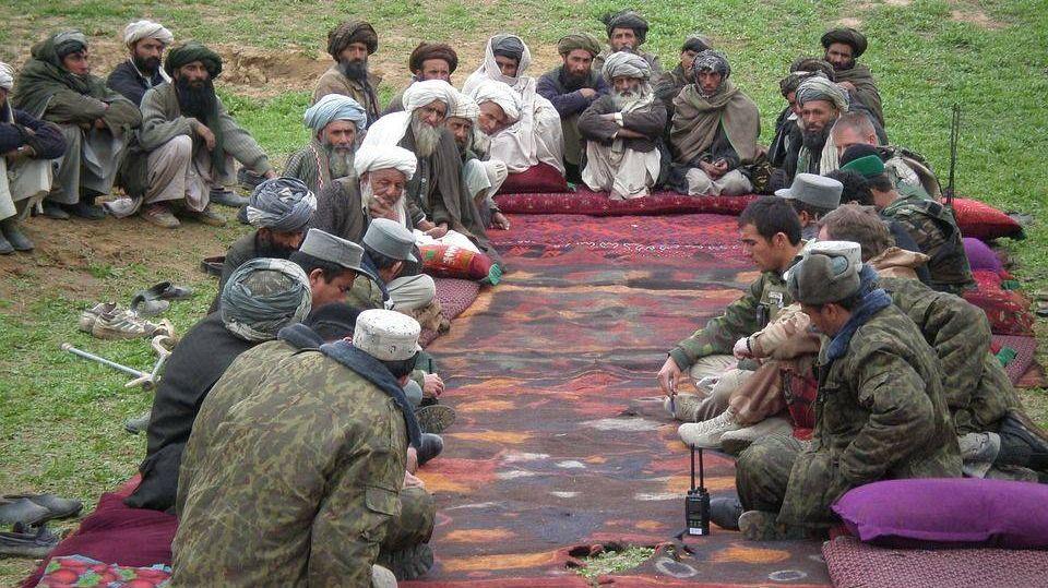 Афганистан. Переговоры