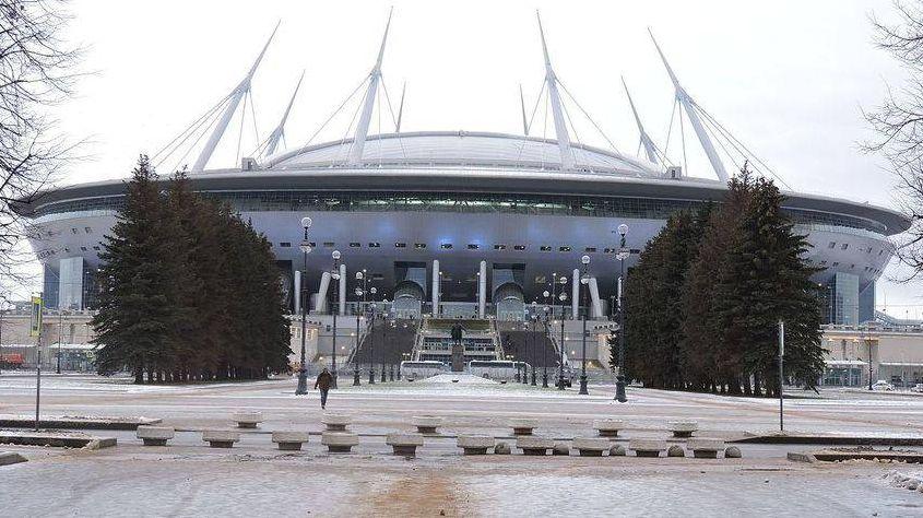 Стадион на Крестовском острове. Санкт-Петербург
