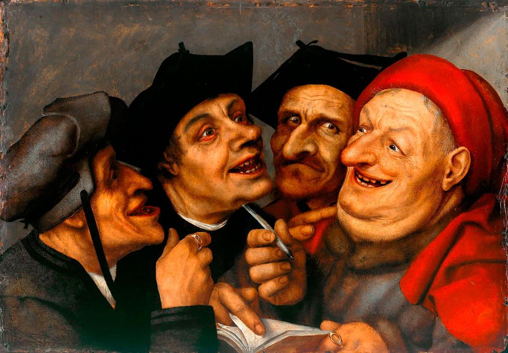Квентин Массейс. Торговая сделка. 16 век.