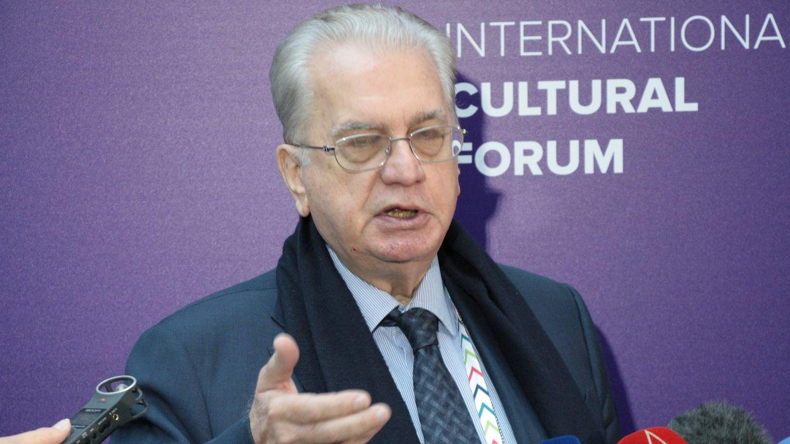 Михаил Пиотровский на VII Санкт-Петербургском международном культурном форуме