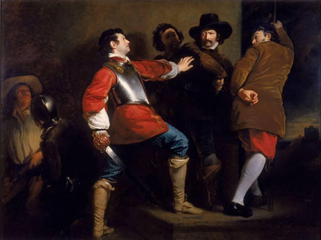 Генри Перронет Бриггс. Заговорщики. 1823