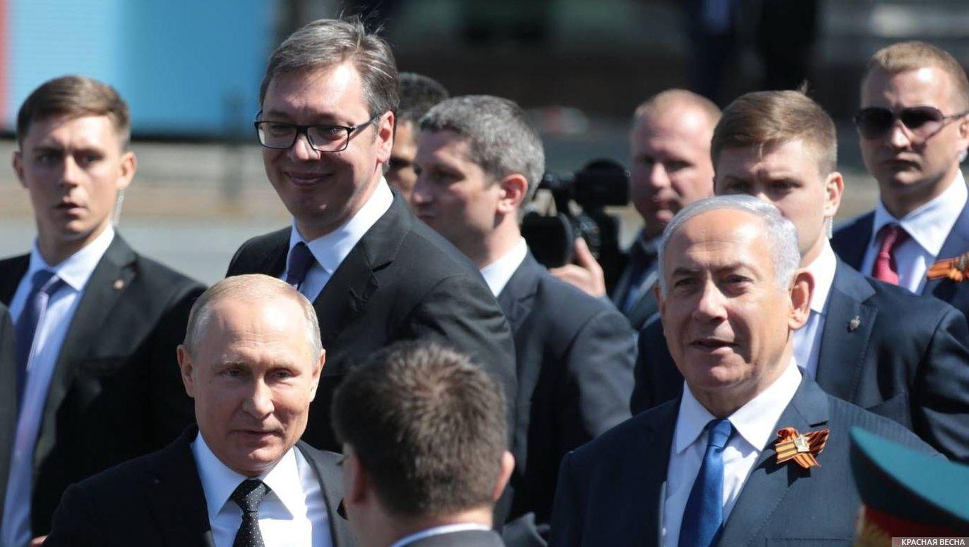 Нетаньяху объявил Путину, что Израиль против любого присутствия Ирана вСирии