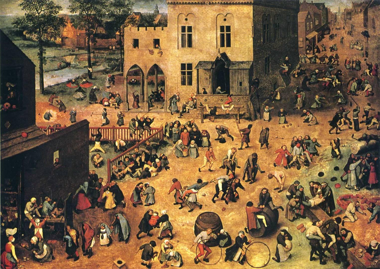 Питер Брейгель Старший. Детские игры. 1560