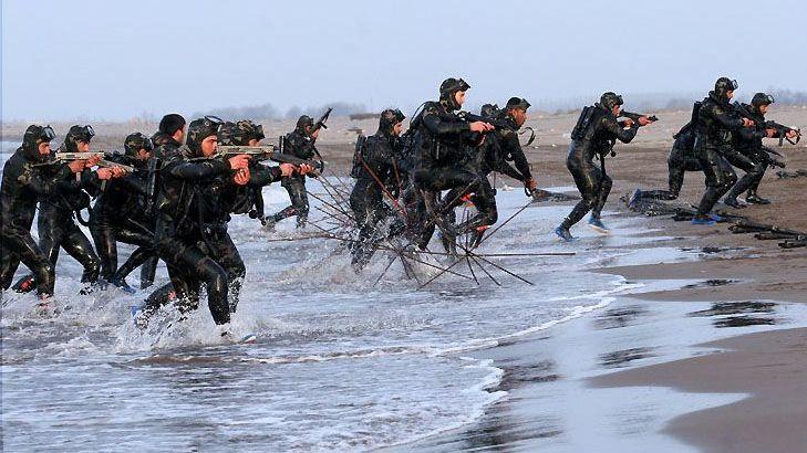 Морской спецназ Корпуса стражей исламской революции
