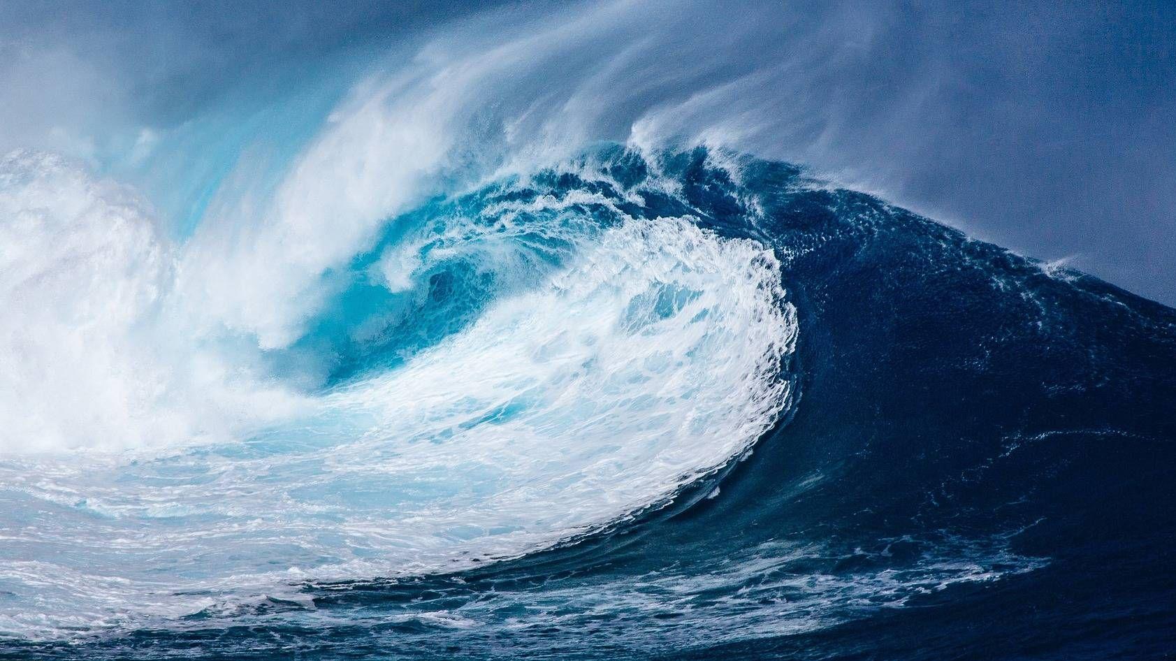 Землетрясение в океане