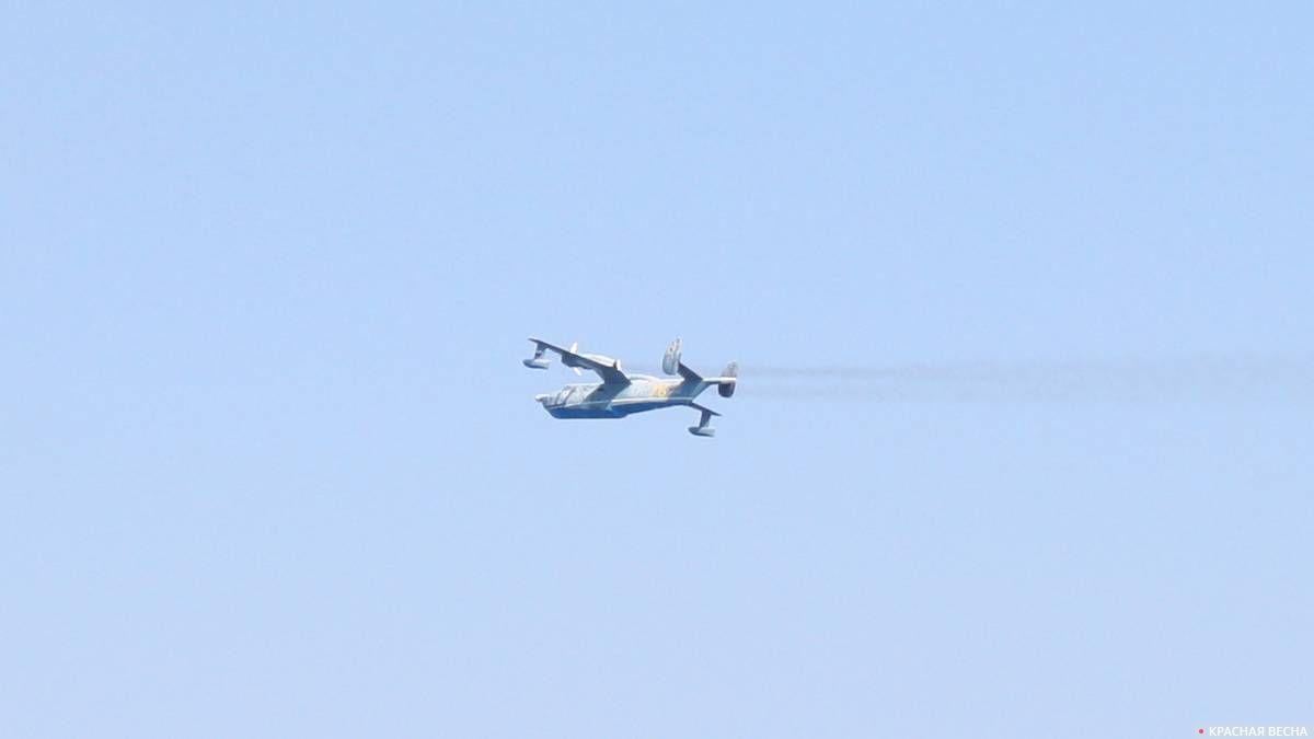 Бе-12 «Чайка», противолодочный самолет-амфибия, парад ВМФ 28.07.2019 г. в г. Севастополь