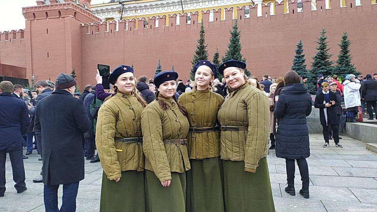Красная площадь 7 ноября 2019 года