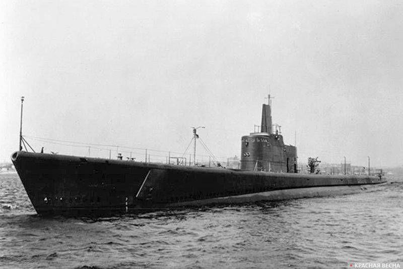 Подлодка USS Grunion