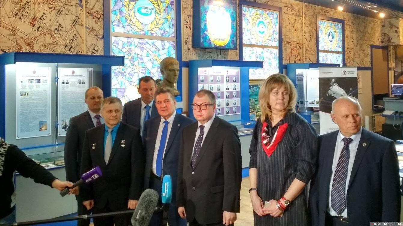 Пресс-конференция по случаю открытия экспозиции