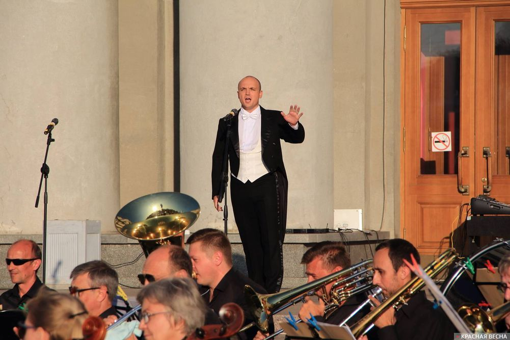 Открытая опера в Самаре