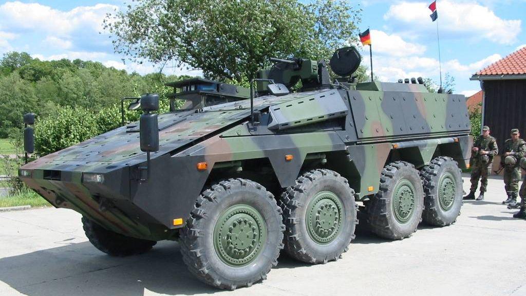 Концерн Rheinmetall - крупнейший производитель военной техники и вооружения