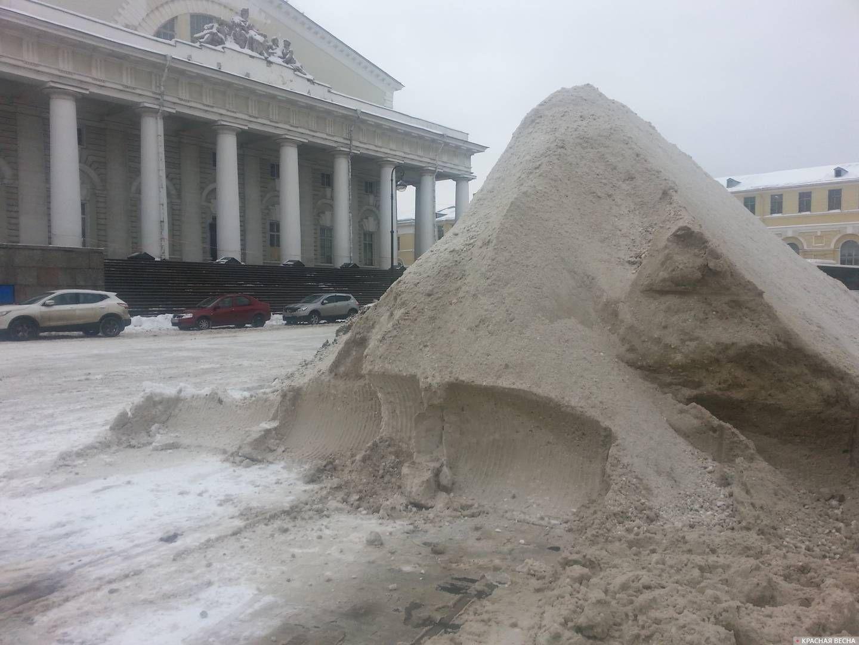 Санкт-Петербург. Биржевая площадь