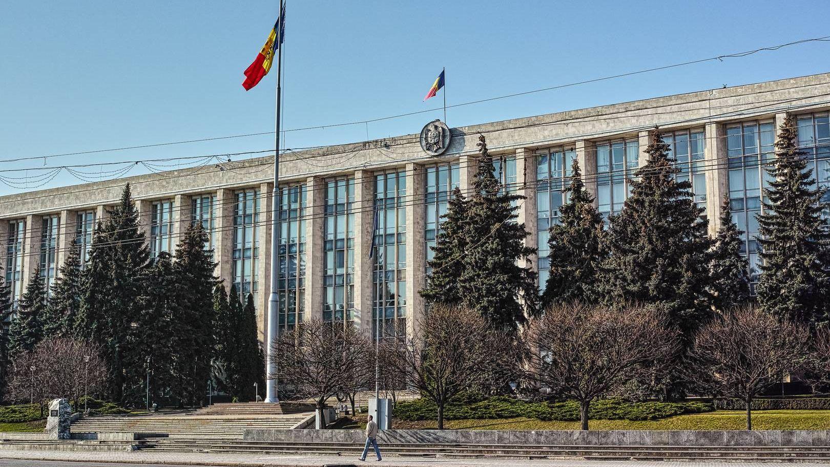 Кишинев. Дом Правительства. 03.2017