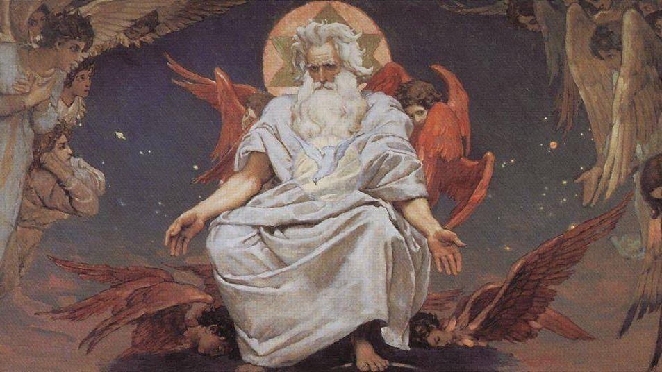 В. М. Васнецов. Бог Саваоф. 1885