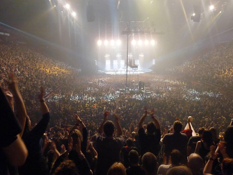 Концерт группы Rammstein в 2012 году в Берси, Франция