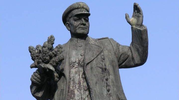 Памятник Ивану Коневу в Праге