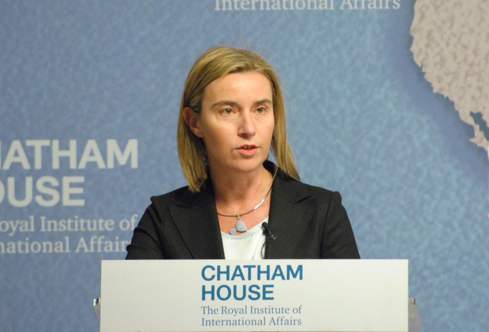 Федерика Могерини, автор: Chatham House, London [chathamhouse], лицензия: CC BY 2.0