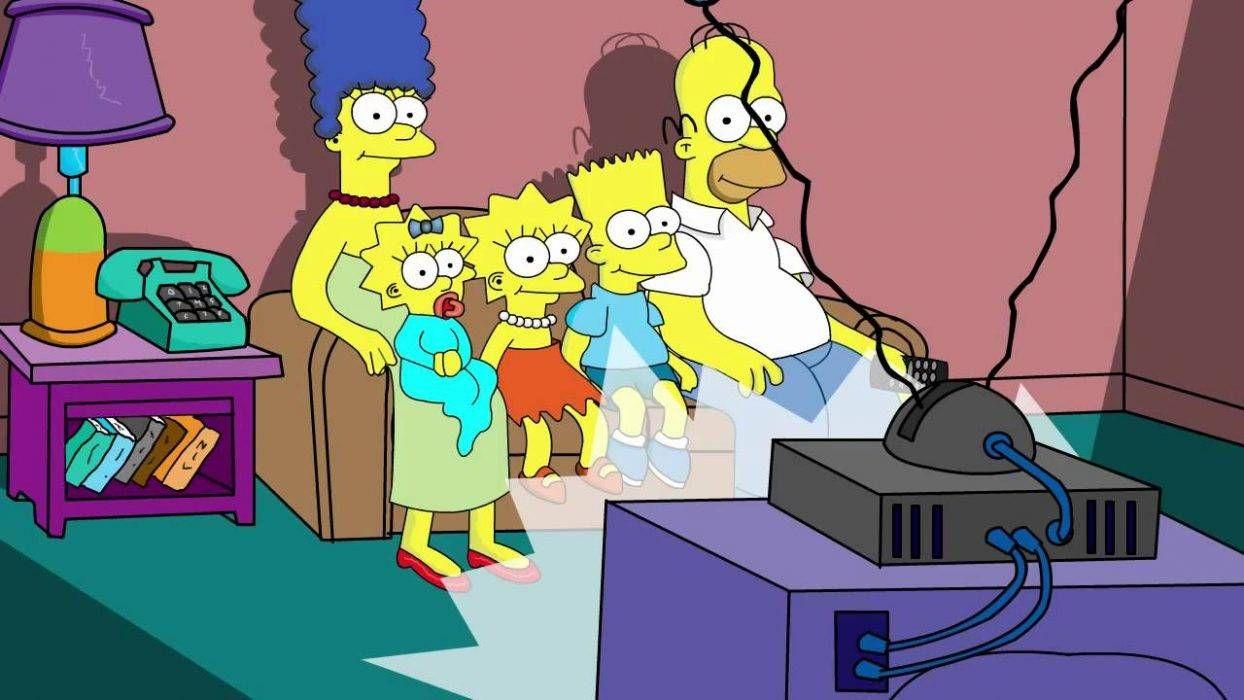 Цитата из м/ф «Симпсоны». 1989. США