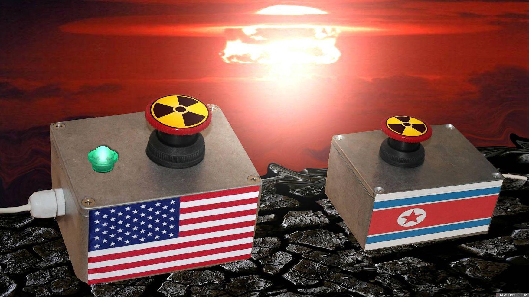 Давление США на КНДР