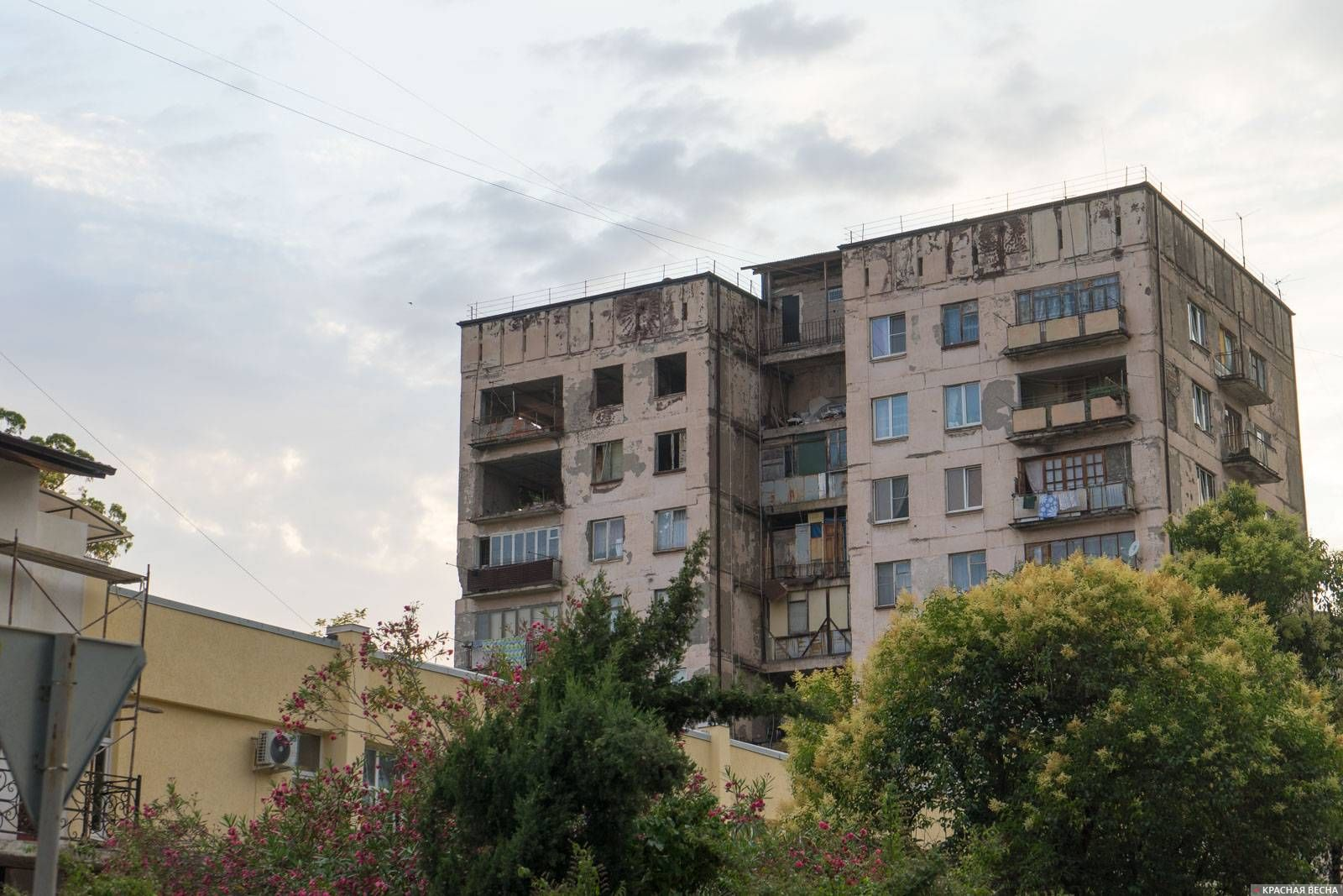 Многоэтажный дом в г. Сухум, Абхазия