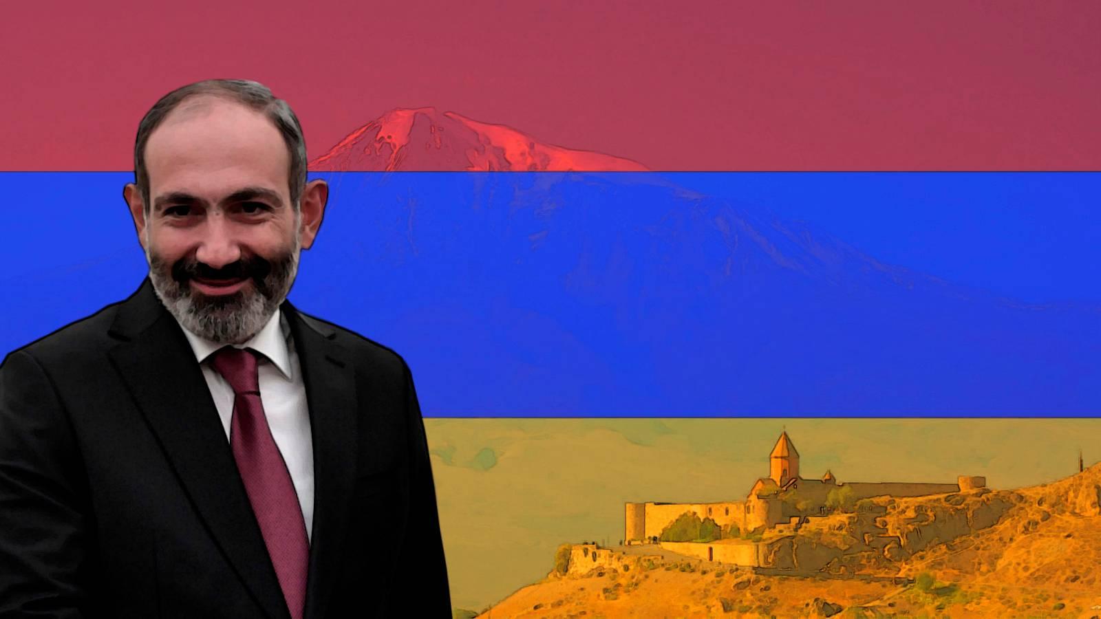 Премьер-министр Республики Армения Николай Пашинян